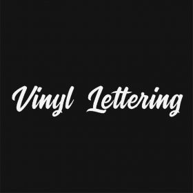VINYL LETTERING 8-01 - Custom Car Wall Window Stickers