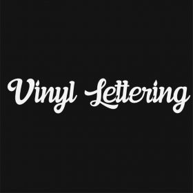 VINYL LETTERING 81-01 - Custom Car Wall Window Stickers