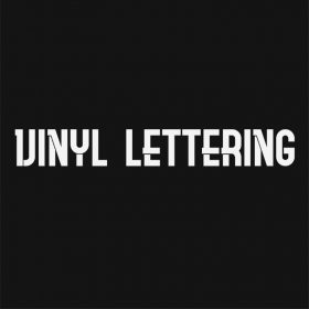 VINYL LETTERING 83-01 - Custom Car Wall Window Stickers