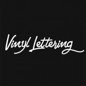 VINYL LETTERING 83-01 - Custom Car Wall Window Stickers