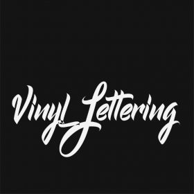 VINYL LETTERING 90-01 - Custom Car Wall Window Stickers