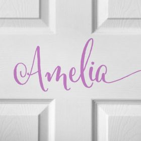 CHILDRENS DOOR NAME 2b-01 Sticker
