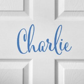 CHILDRENS DOOR NAME 2d-01 Sticker