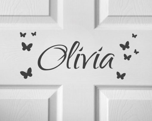 CHILDRENS DOOR NAME 3a-01 Sticker