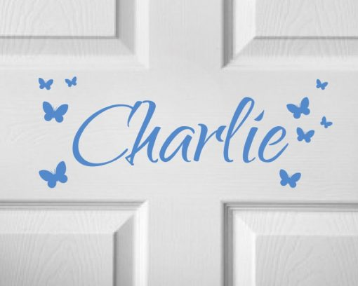 CHILDRENS DOOR NAME 3b-01 Sticker