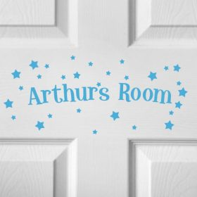 CHILDRENS DOOR NAME 5d-01 Sticker