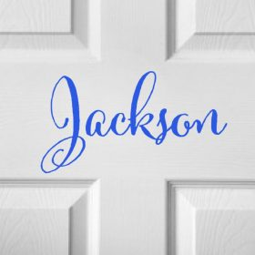 CHILDRENS DOOR NAME 9c-01 Sticker