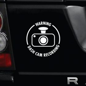 Dash Cam Sticker 1b-01 Decal