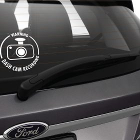 Dash Cam Sticker 1c-01 Decal