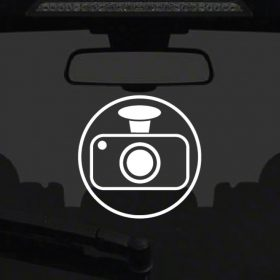 Dash Cam Sticker 2a-01 Decal