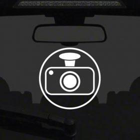 Dash Cam Sticker 2a-01 Decal