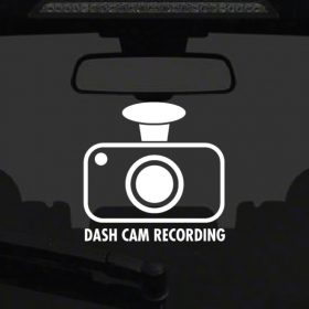 Dash Cam Sticker 3a-01 Decal