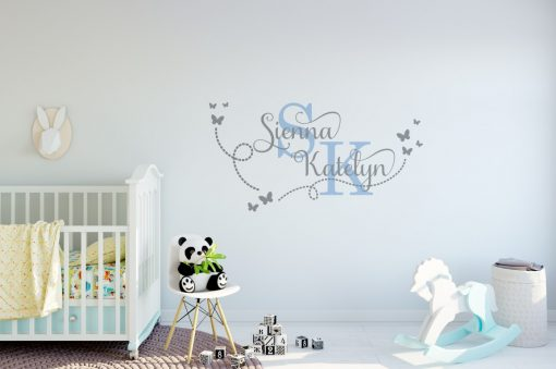 Two Name Wall Sticker 15d Decal