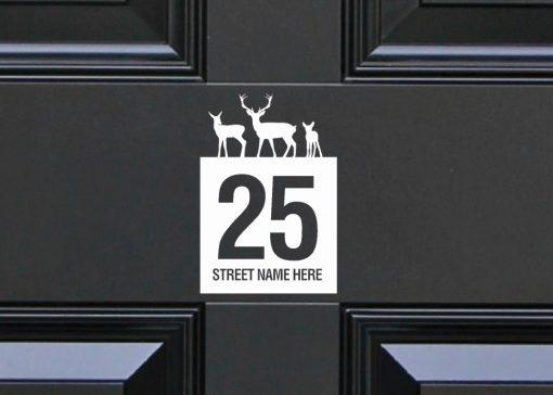 door-numbers 114DR