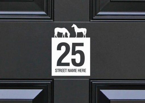 door-numbers 115DR