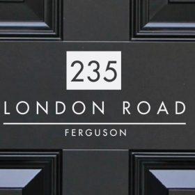 door-numbers 14DR