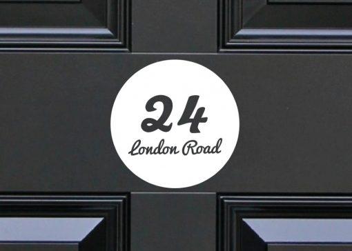 door-numbers 2DR