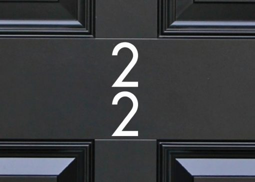 door-numbers 44DR