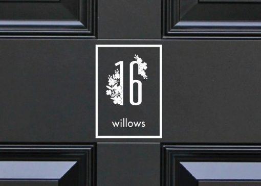 door-numbers 57DR