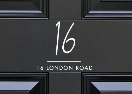 door-numbers 5DR