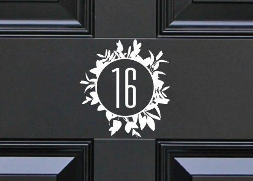 door-numbers 7DR
