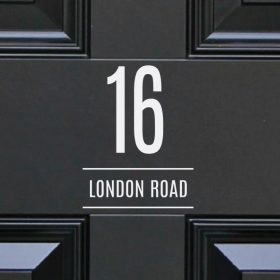 house-sign-numbers 10DR