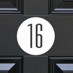 house-sign-numbers 1DR
