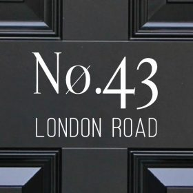 house-sign-numbers 33DR