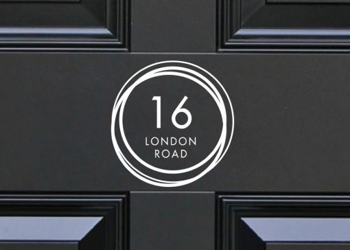 house-sign-numbers 8DR