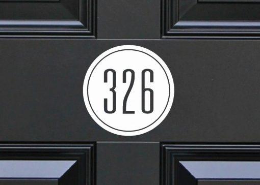 circular house-sign-slate 67DR