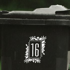floral wheelie-bin-sticker-numbers-73WB