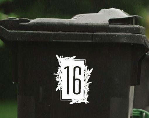 floral wheelie-bin-sticker-numbers-75WB