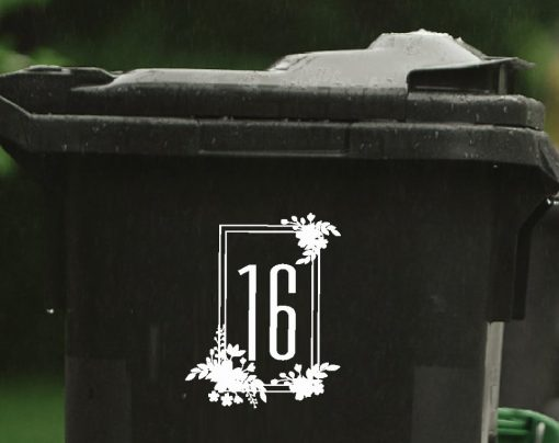 floral wheelie-bin-sticker-numbers-77WB