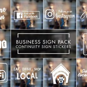 Business Continuituy Sign Pack